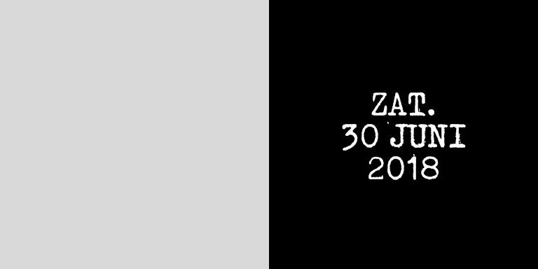 Wit canvas zaterdag 30 juni 2018